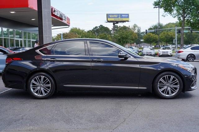 Used 2019 Genesis G80 3.8 for sale Sold at Gravity Autos Roswell in Roswell GA 30076 8