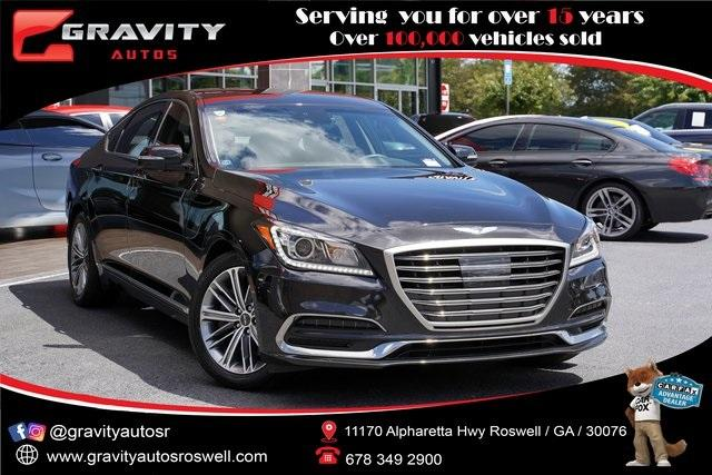 Used 2019 Genesis G80 3.8 for sale Sold at Gravity Autos Roswell in Roswell GA 30076 1