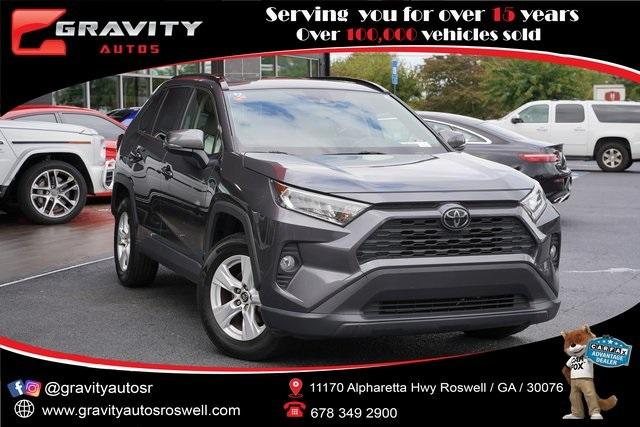 Used 2019 Toyota RAV4 XLE for sale $28,496 at Gravity Autos Roswell in Roswell GA 30076 1