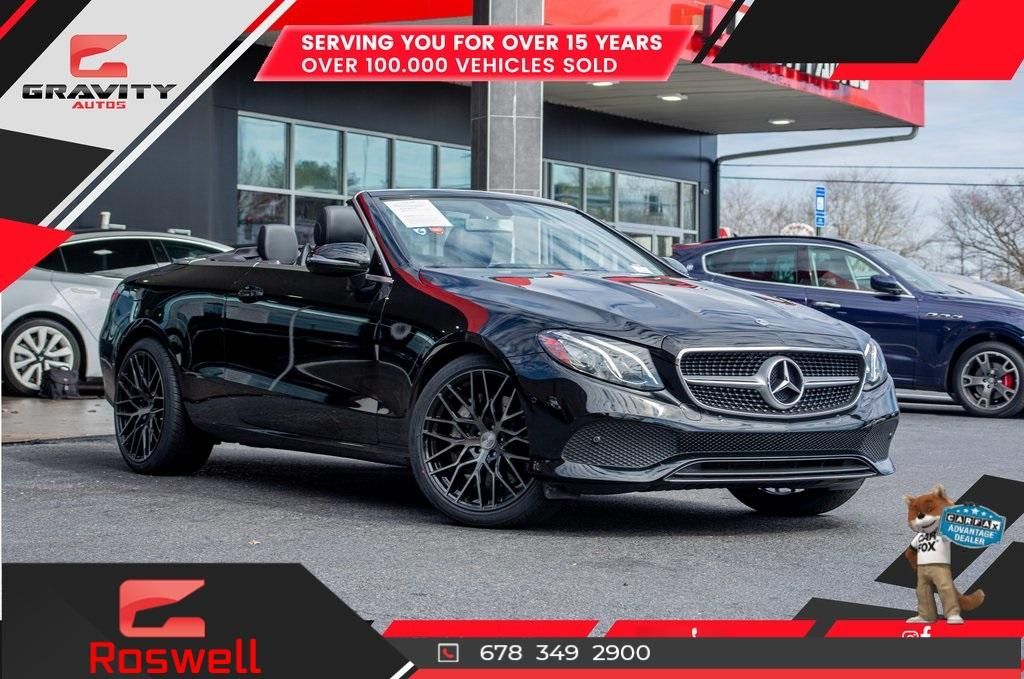 Used 2018 Mercedes-Benz E-Class E 400 for sale $65,991 at Gravity Autos Roswell in Roswell GA 30076 1