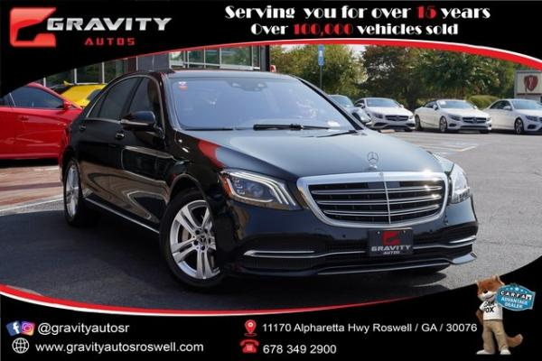 Used 2018 Mercedes-Benz S-Class S 450 for sale $58,496 at Gravity Autos Roswell in Roswell GA