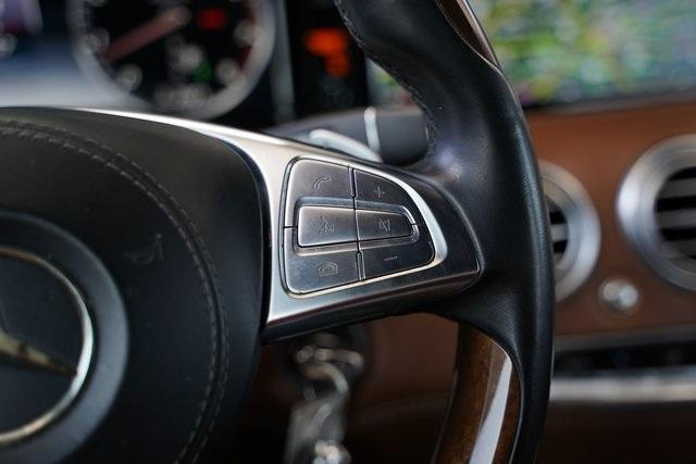 Used 2017 Mercedes-Benz S-Class S 550 for sale $81,991 at Gravity Autos Roswell in Roswell GA 30076 18