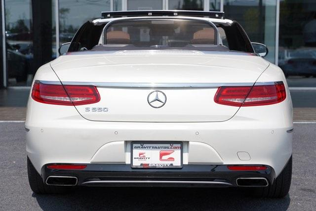 Used 2017 Mercedes-Benz S-Class S 550 for sale $81,991 at Gravity Autos Roswell in Roswell GA 30076 6