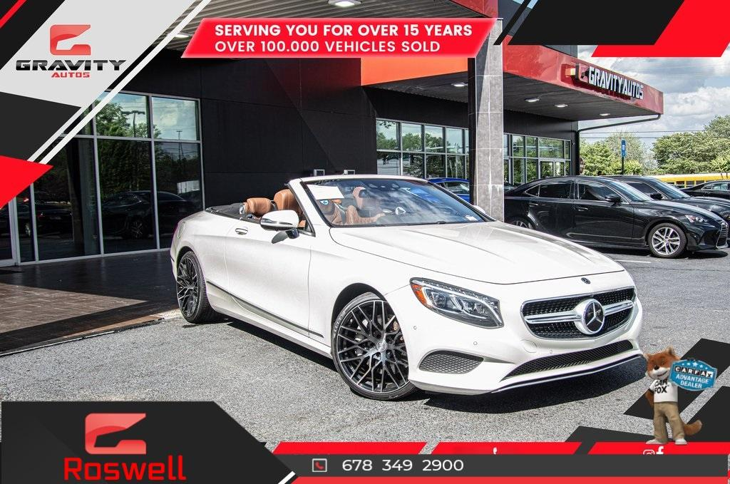 Used 2017 Mercedes-Benz S-Class S 550 for sale $81,991 at Gravity Autos Roswell in Roswell GA 30076 1