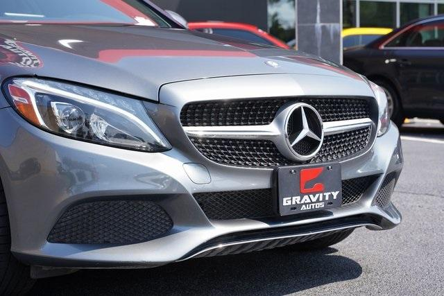 Used 2017 Mercedes-Benz C-Class C 300 for sale $35,991 at Gravity Autos Roswell in Roswell GA 30076 9