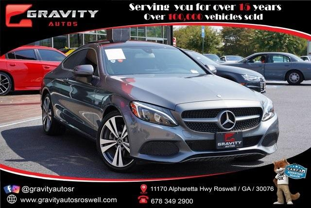 Used 2017 Mercedes-Benz C-Class C 300 for sale $35,991 at Gravity Autos Roswell in Roswell GA 30076 1