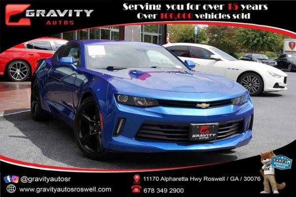 Used 2017 Chevrolet Camaro 2LT for sale $33,991 at Gravity Autos Roswell in Roswell GA