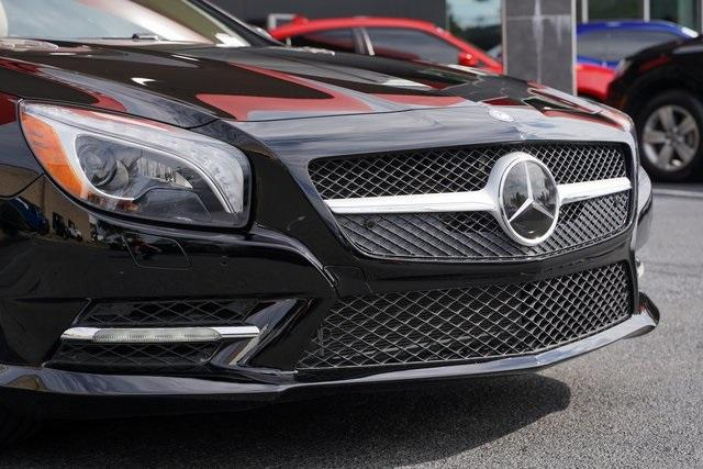 Used 2016 Mercedes-Benz SL-Class SL 400 Roadster for sale $54,991 at Gravity Autos Roswell in Roswell GA 30076 11