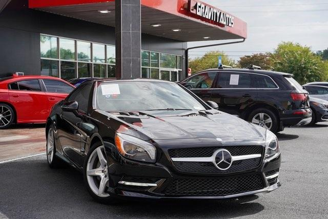 Used 2016 Mercedes-Benz SL-Class SL 400 Roadster for sale $54,991 at Gravity Autos Roswell in Roswell GA 30076 13