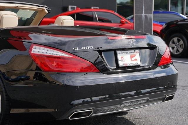 Used 2016 Mercedes-Benz SL-Class SL 400 Roadster for sale $54,991 at Gravity Autos Roswell in Roswell GA 30076 18
