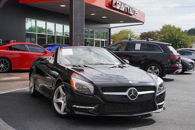 Used 2016 Mercedes-Benz SL-Class SL 400 Roadster for sale $54,991 at Gravity Autos Roswell in Roswell GA 30076 2