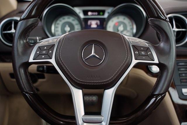 Used 2016 Mercedes-Benz SL-Class SL 400 Roadster for sale $54,991 at Gravity Autos Roswell in Roswell GA 30076 23