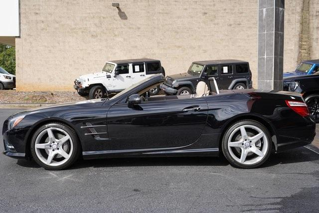Used 2016 Mercedes-Benz SL-Class SL 400 Roadster for sale $54,991 at Gravity Autos Roswell in Roswell GA 30076 4