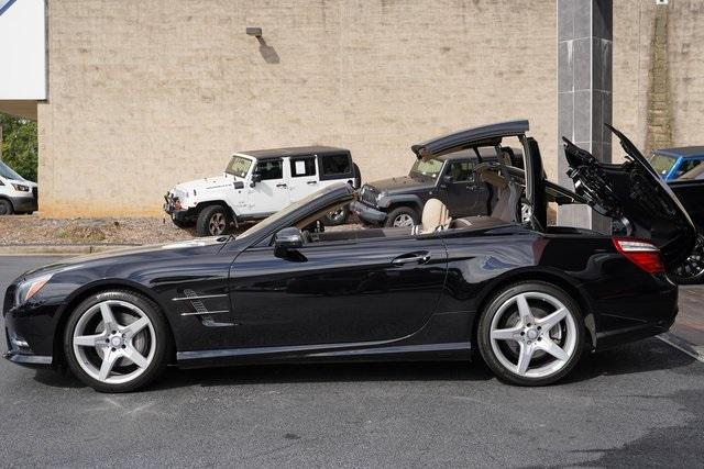 Used 2016 Mercedes-Benz SL-Class SL 400 Roadster for sale $54,991 at Gravity Autos Roswell in Roswell GA 30076 5