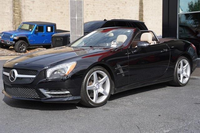 Used 2016 Mercedes-Benz SL-Class SL 400 Roadster for sale $54,991 at Gravity Autos Roswell in Roswell GA 30076 7