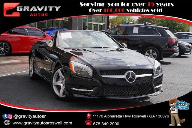 Used 2016 Mercedes-Benz SL-Class SL 400 Roadster for sale $54,991 at Gravity Autos Roswell in Roswell GA 30076 1