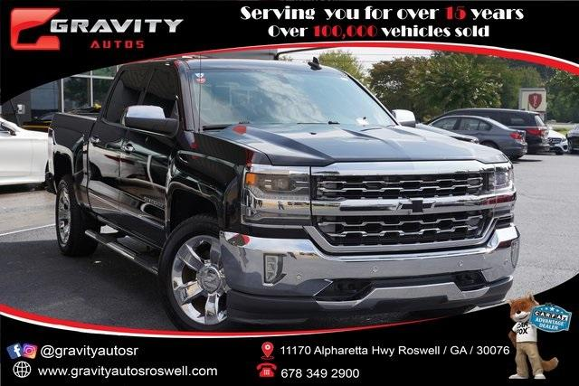 Used 2016 Chevrolet Silverado 1500 LTZ for sale $39,991 at Gravity Autos Roswell in Roswell GA 30076 1