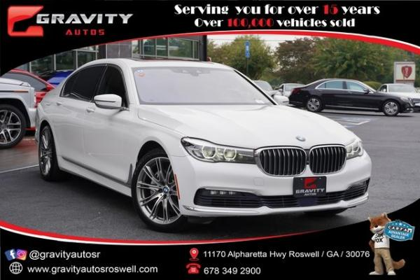 Used 2016 BMW 7 Series 740i for sale $36,991 at Gravity Autos Roswell in Roswell GA