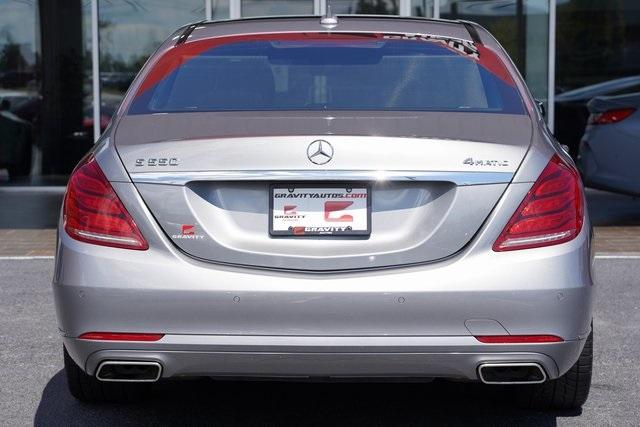 Used 2015 Mercedes-Benz S-Class S 550 for sale $43,991 at Gravity Autos Roswell in Roswell GA 30076 12