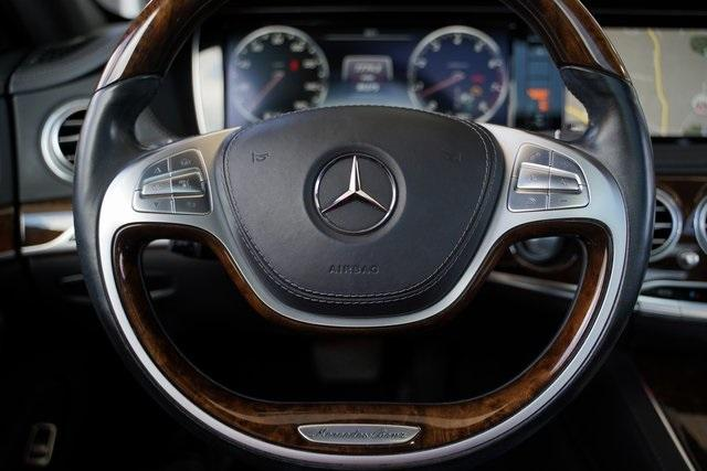 Used 2015 Mercedes-Benz S-Class S 550 for sale $43,991 at Gravity Autos Roswell in Roswell GA 30076 16
