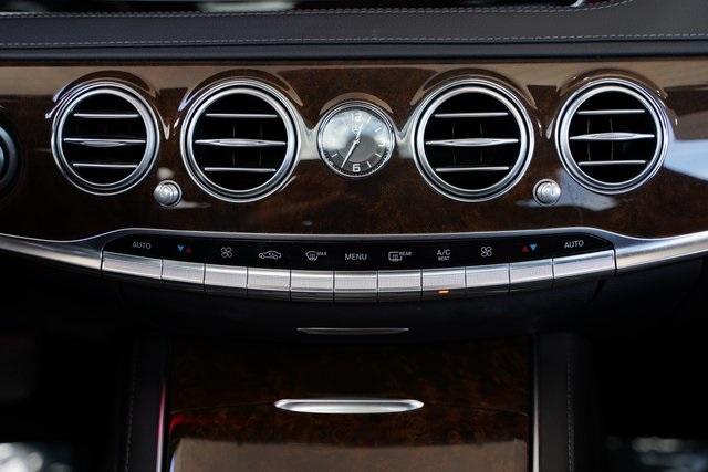 Used 2015 Mercedes-Benz S-Class S 550 for sale $43,991 at Gravity Autos Roswell in Roswell GA 30076 27