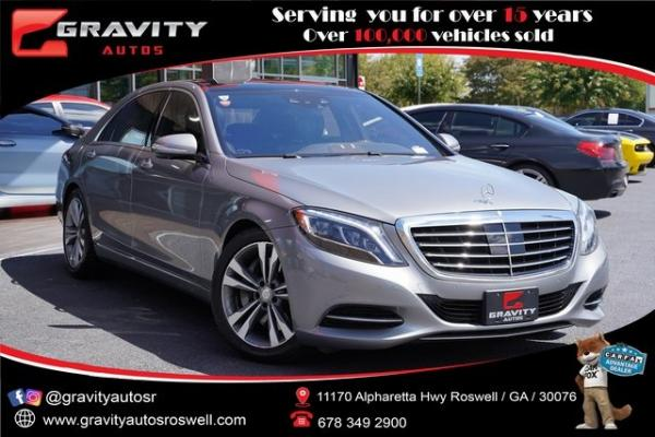 Used 2015 Mercedes-Benz S-Class S 550 for sale $43,991 at Gravity Autos Roswell in Roswell GA