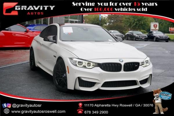 Used 2017 BMW M4 Base for sale $59,996 at Gravity Autos Roswell in Roswell GA