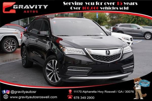 Used 2015 Acura MDX 3.5L Technology Package for sale $23,992 at Gravity Autos Roswell in Roswell GA