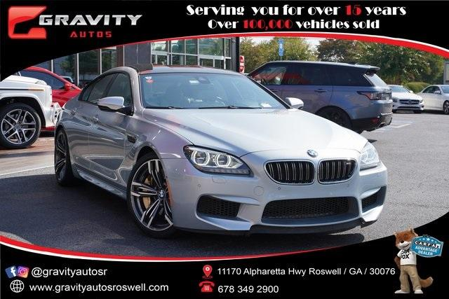 Used 2015 BMW M6 Base for sale $56,991 at Gravity Autos Roswell in Roswell GA 30076 1