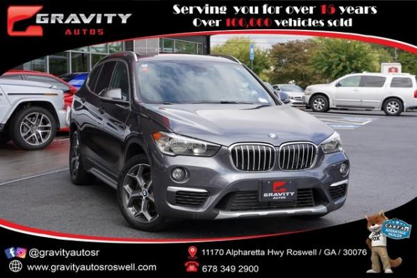 Used 2018 BMW X1 sDrive28i for sale $29,496 at Gravity Autos Roswell in Roswell GA