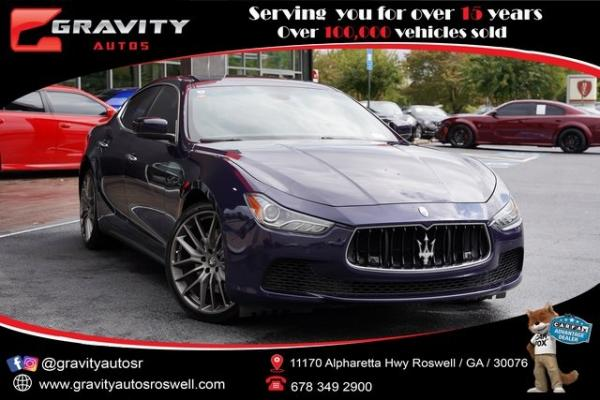 Used 2016 Maserati Ghibli S for sale $36,991 at Gravity Autos Roswell in Roswell GA