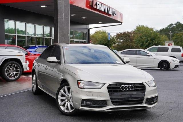 Used 2014 Audi A4 2.0T Premium for sale $15,992 at Gravity Autos Roswell in Roswell GA 30076 2