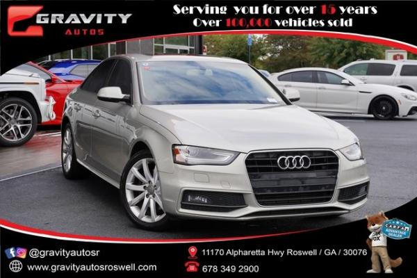 Used 2014 Audi A4 2.0T Premium for sale $15,992 at Gravity Autos Roswell in Roswell GA