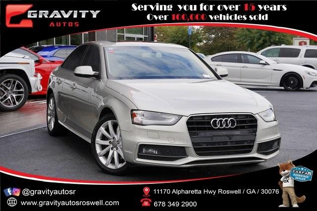 Used 2014 Audi A4 2.0T Premium for sale $15,992 at Gravity Autos Roswell in Roswell GA 30076 1
