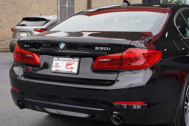 Used 2018 BMW 5 Series 530i xDrive for sale $37,496 at Gravity Autos Roswell in Roswell GA 30076 14