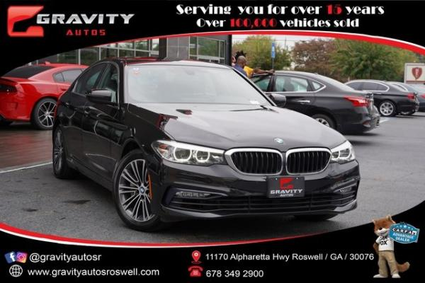 Used 2018 BMW 5 Series 530i xDrive for sale $37,496 at Gravity Autos Roswell in Roswell GA