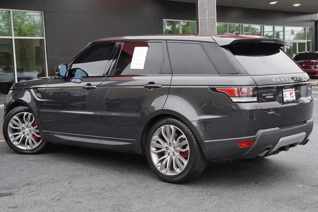 Used 2016 Land Rover Range Rover Sport 5.0L V8 Supercharged for sale Sold at Gravity Autos Roswell in Roswell GA 30076 11