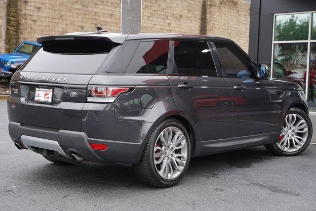 Used 2016 Land Rover Range Rover Sport 5.0L V8 Supercharged for sale Sold at Gravity Autos Roswell in Roswell GA 30076 13