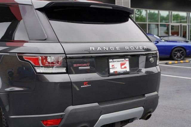 Used 2016 Land Rover Range Rover Sport 5.0L V8 Supercharged for sale Sold at Gravity Autos Roswell in Roswell GA 30076 14