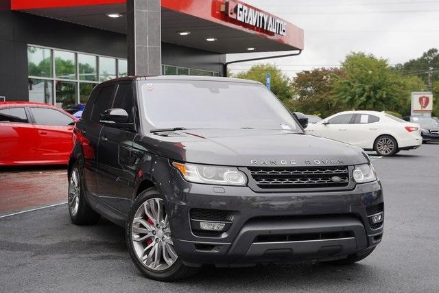 Used 2016 Land Rover Range Rover Sport 5.0L V8 Supercharged for sale Sold at Gravity Autos Roswell in Roswell GA 30076 2