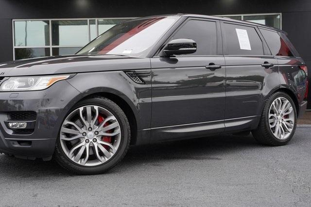 Used 2016 Land Rover Range Rover Sport 5.0L V8 Supercharged for sale Sold at Gravity Autos Roswell in Roswell GA 30076 3