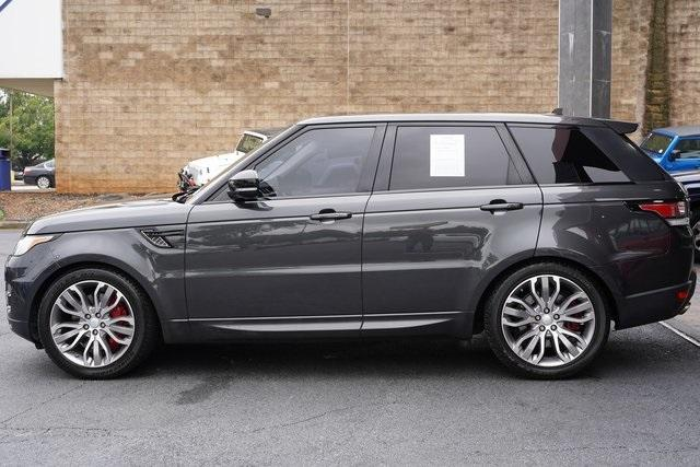 Used 2016 Land Rover Range Rover Sport 5.0L V8 Supercharged for sale Sold at Gravity Autos Roswell in Roswell GA 30076 4