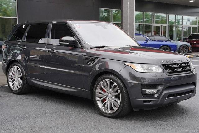Used 2016 Land Rover Range Rover Sport 5.0L V8 Supercharged for sale Sold at Gravity Autos Roswell in Roswell GA 30076 7