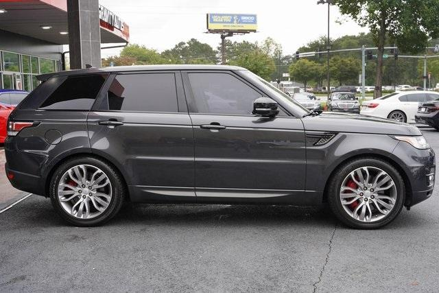 Used 2016 Land Rover Range Rover Sport 5.0L V8 Supercharged for sale Sold at Gravity Autos Roswell in Roswell GA 30076 8