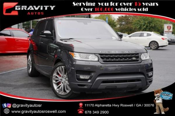 Used 2016 Land Rover Range Rover Sport 5.0L V8 Supercharged for sale $44,992 at Gravity Autos Roswell in Roswell GA