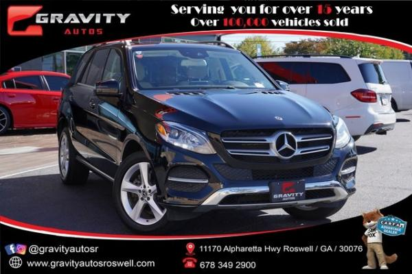Used 2018 Mercedes-Benz GLE GLE 350 for sale $36,996 at Gravity Autos Roswell in Roswell GA