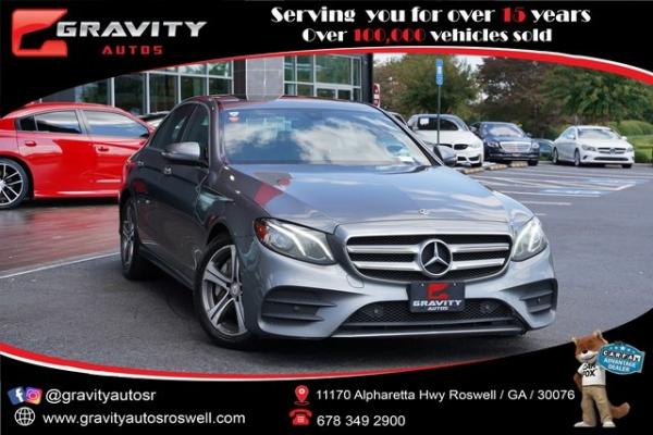 Used 2018 Mercedes-Benz E-Class E 400 for sale $37,996 at Gravity Autos Roswell in Roswell GA