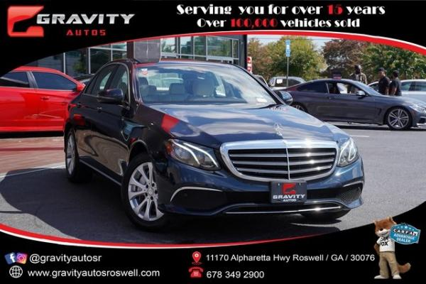 Used 2017 Mercedes-Benz E-Class E 300 for sale $32,996 at Gravity Autos Roswell in Roswell GA