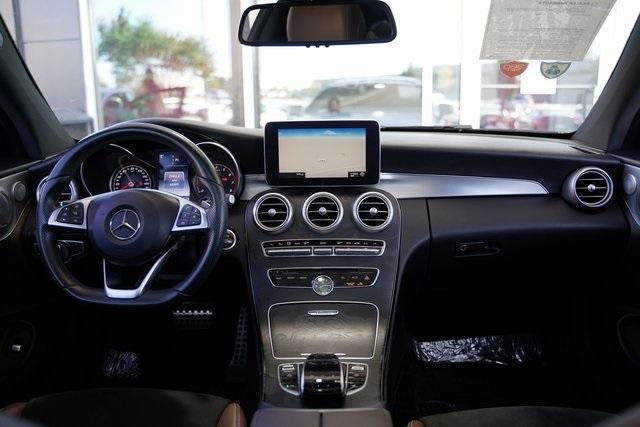 Used 2017 Mercedes-Benz C-Class C 300 for sale $32,496 at Gravity Autos Roswell in Roswell GA 30076 16