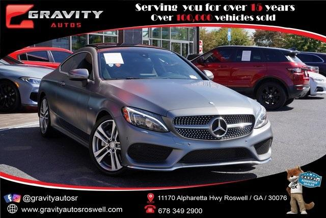 Used 2017 Mercedes-Benz C-Class C 300 for sale $32,496 at Gravity Autos Roswell in Roswell GA 30076 1